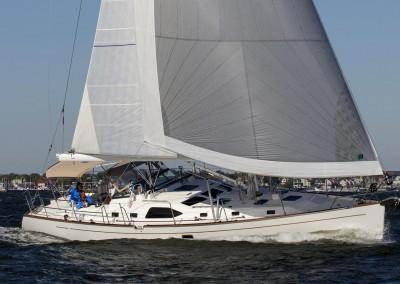 Passport 545 BOTY test sail, Annapolis MD