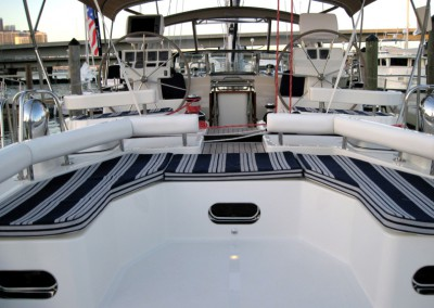 Passport Vista 585TC & 615TC Aft Deck Looking Forward