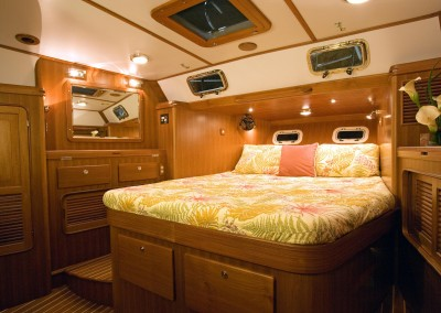 Passport Vista 545CC Aft Stateroom with Headboard Down