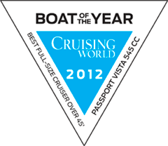 Cruising World Boat of the Year 2012: Passport Vista 545 Center Cockpit