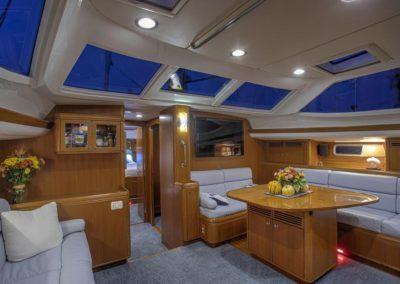 Passport Vista 615TC Dinette Starboard View