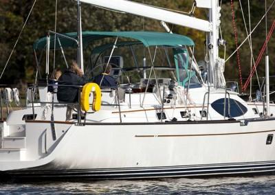 Passport Vista 545 sailing in Annapolis, MD.