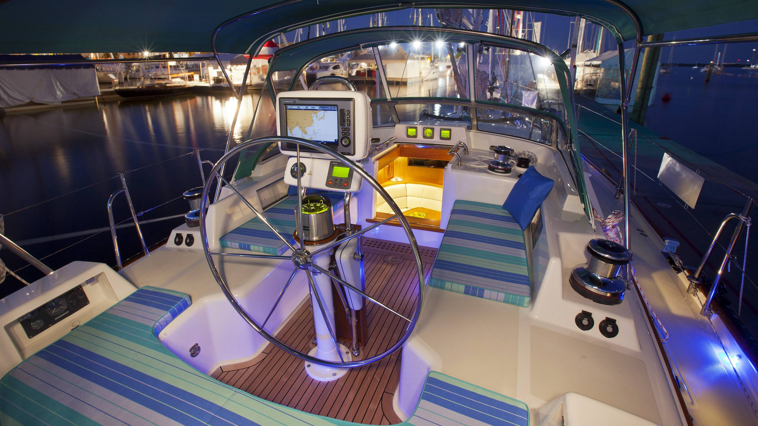 Passport Yachts are designed for comfort at rest and sea-kindliness underway.