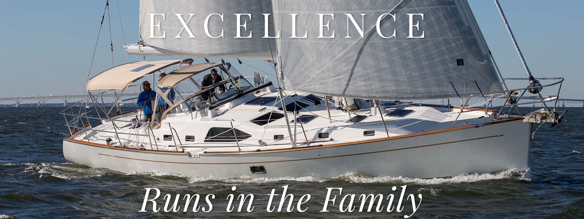 Excellence runs in the family. Passport Vista 545