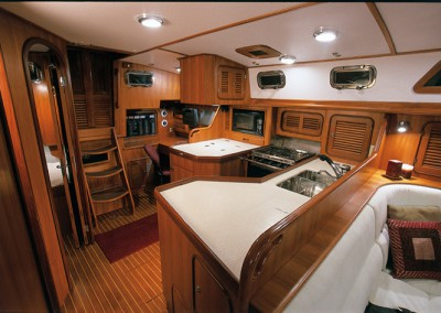 Passport Yachts Classic Series Aft Cockpit Galley