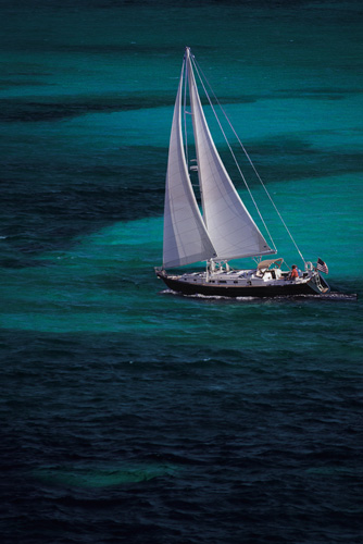 Passport Yachts 456AC in the Carribean