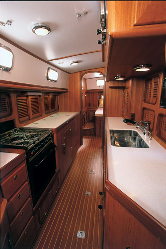 Passport 470CC Galley